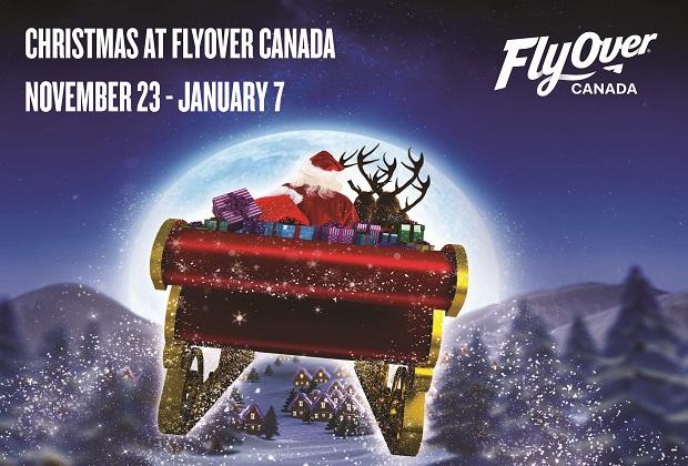 FlyOver Canada Christmas 2018 in Vancouver