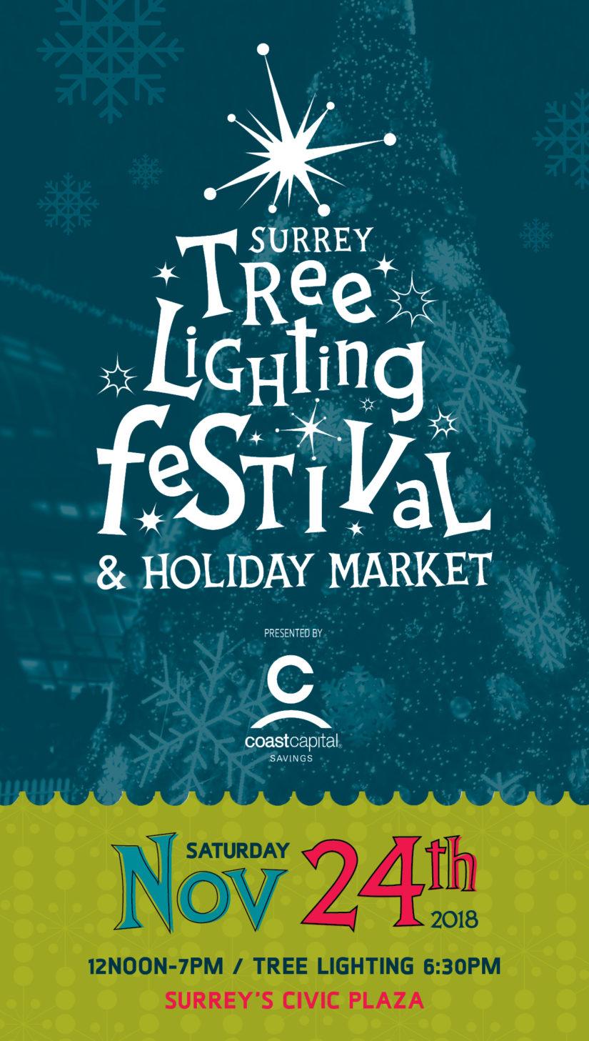 Surrey Tree Lighting Festival 2018 in Surrey