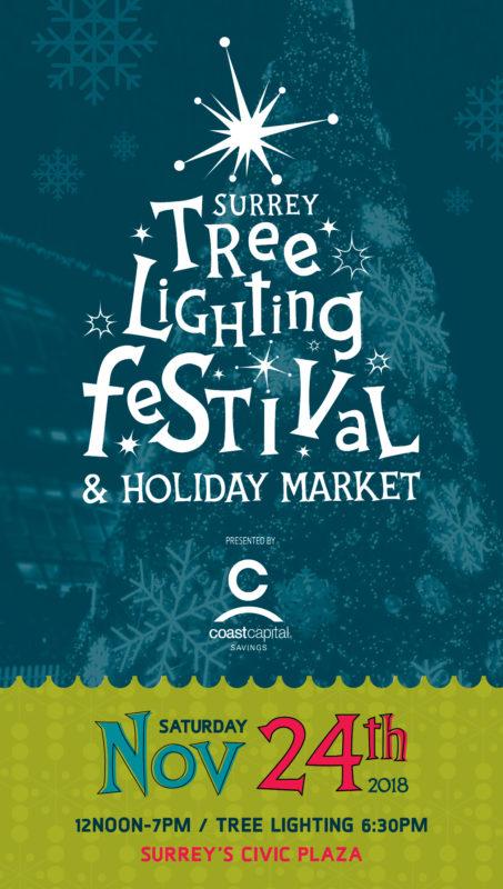 Surrey Tree Lighting Festival 2018