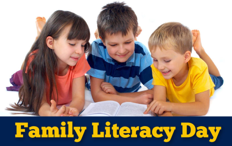 Family Literacy Day in Abbotsford