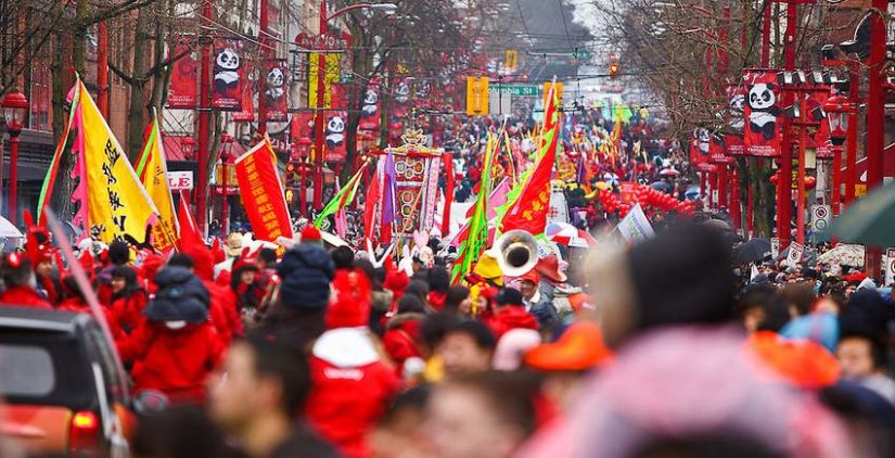 Vancouver Chinese New Year Parade 2019 in Vancouver