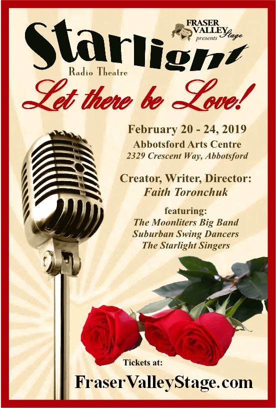 Starlight Radio Theatre- Let there be Love! in Abbotsford