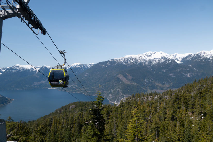 Sea to Sky Gondola Spring Break 2019 in Whistler