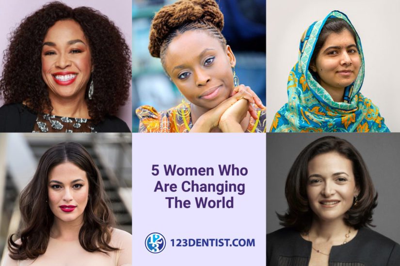 Five Women Who Are Changing the World