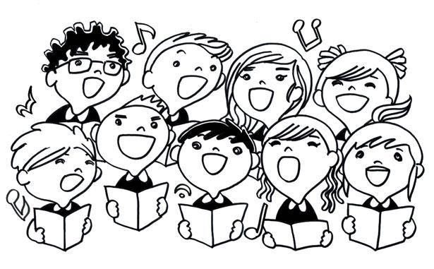Rick Scott and the KC Kids' Choir 2019 in Maple Ridge