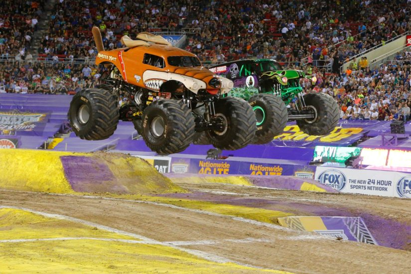 Monster Truck Chaos in Kelowna