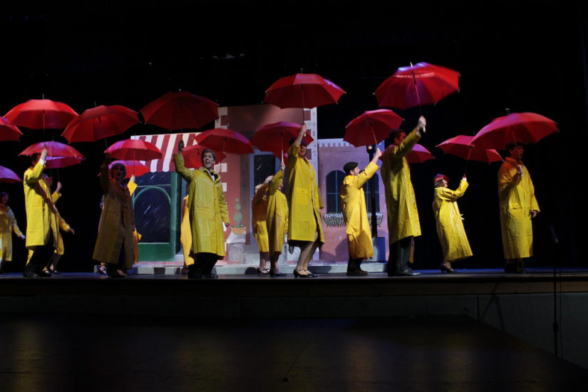 Singing in the Rain 2019 in New Westminster