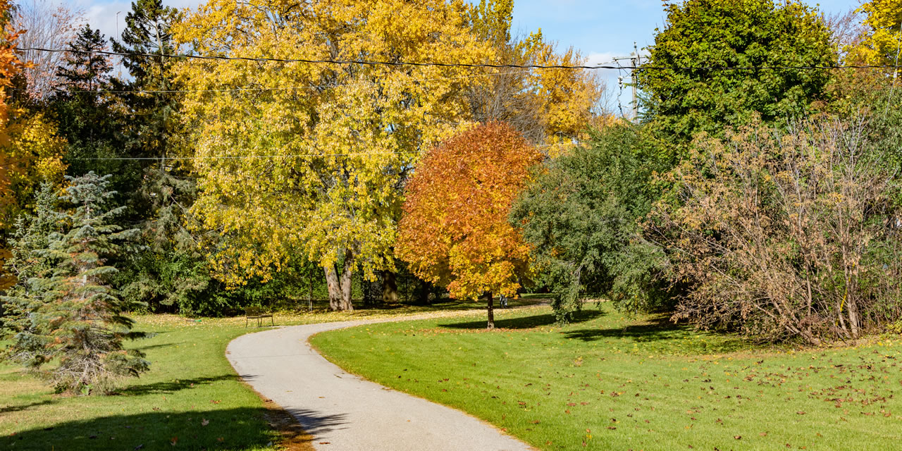 Park in Ajax Ontario