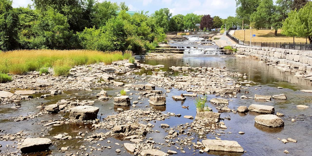 Waterway near Deseronto Ontario
