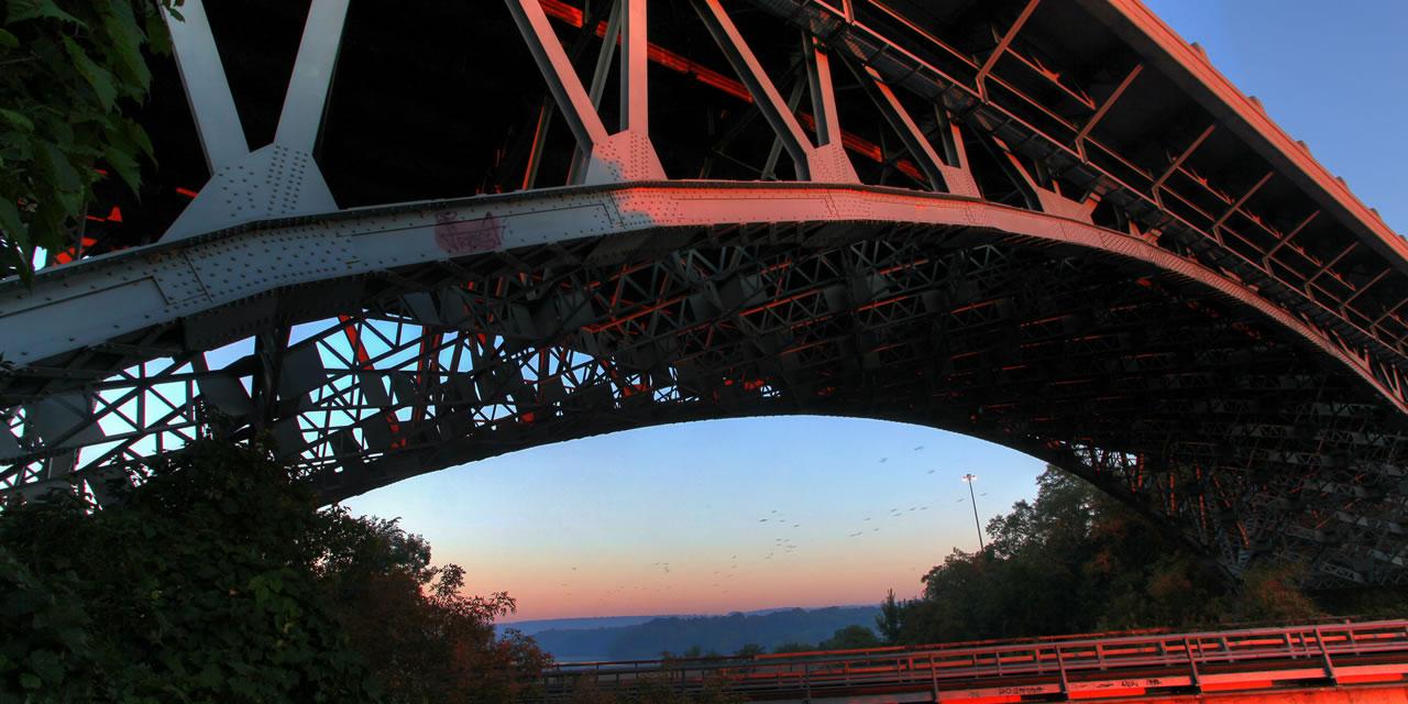 Bridge near Hamilton Ontario
