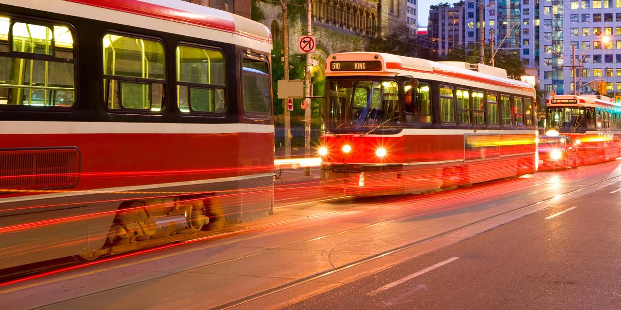 Toronto street cars