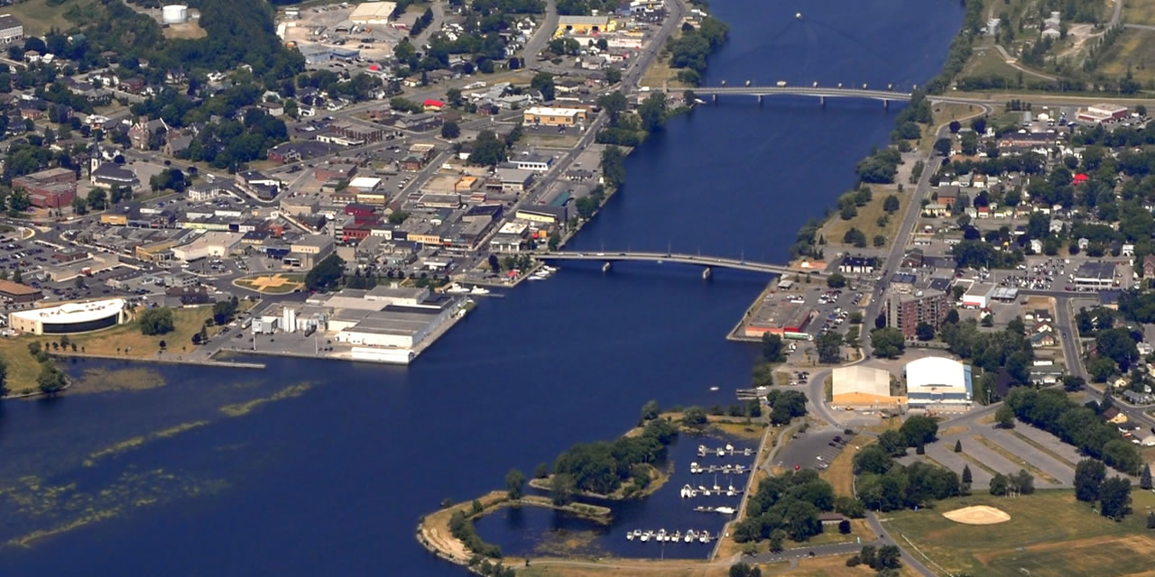 Trenton from the air