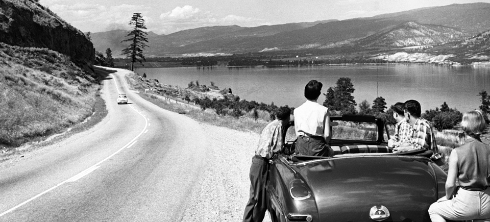The Trans-Canada Highway became a symbol of adventure for Canadians