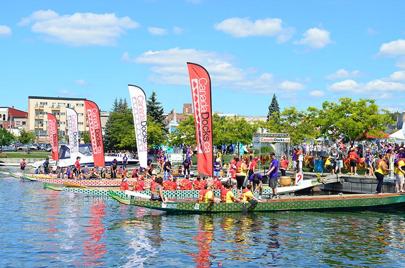 Barrie Dragon Boat Festival in Barrie