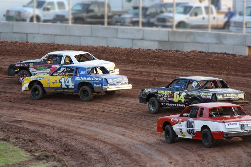 Stock Car Racing in Drumheller
