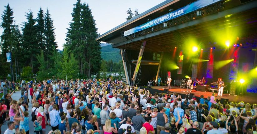 Concerts in the Park in Whistler