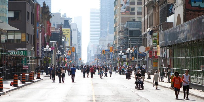 Open Streets Toronto in Toronto