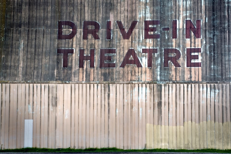 Drive-In Movie Night at the Heritage Park in Whistler
