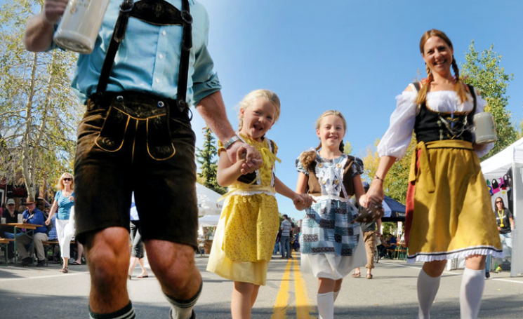 Community Oktoberfest Luncheon in Cambridge