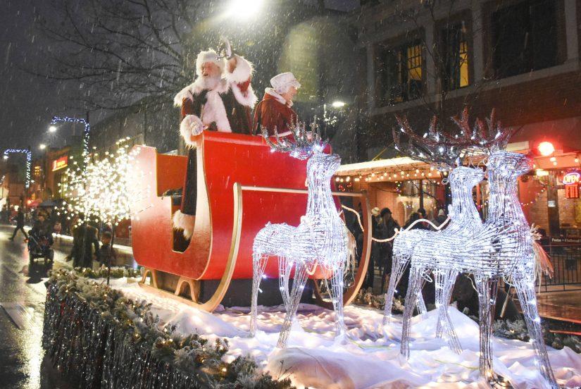 JCI Santa Claus Parade in Brantford
