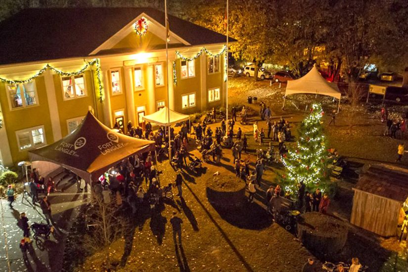 Christmas in Fort Langley in Langley