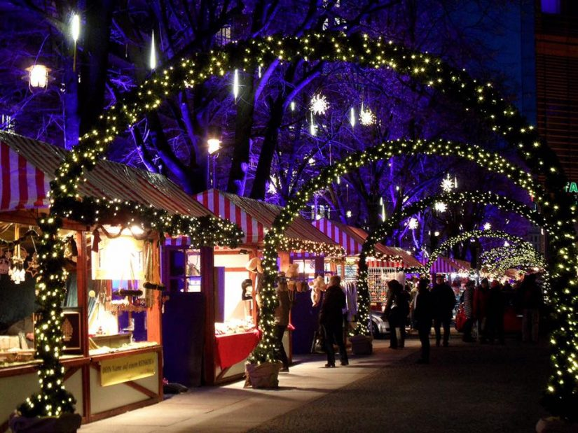 Shipyards Christmas Market in North Vancouver