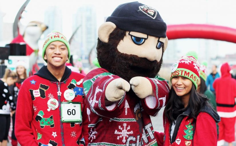 Ugly Christmas Sweater Dash in Port Moody