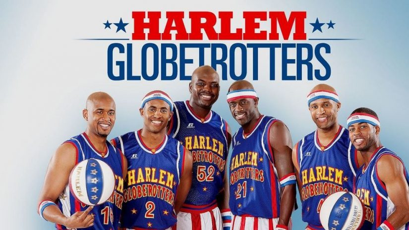 Harlem Globetrotters in Red Deer