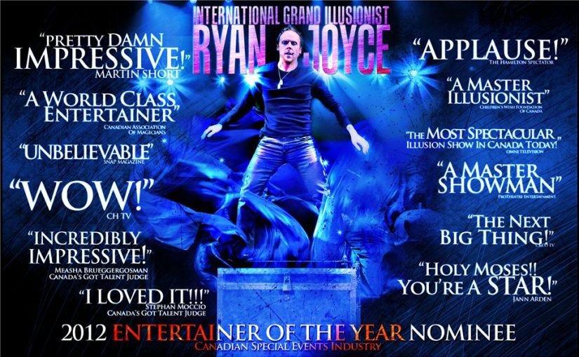 Ryan Joyce – World Class Illusionist in Thunder Bay