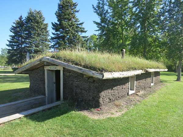 Sod House Pioneers in Winnipeg