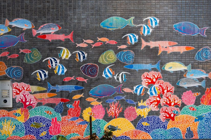 Community Mural Painting in West Vancouver