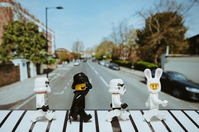 LEGO Minifigure Art Show in Toronto