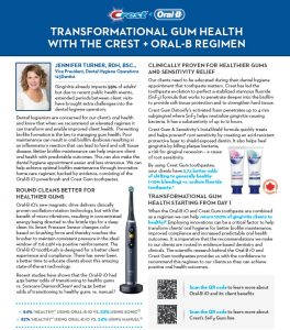 Transformational Gum Health with the Crest + Oral-B Regimen