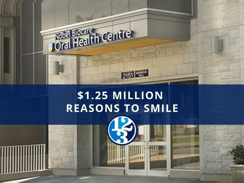 123Dentist Gives UBC Faculty of Dentistry $1.25 Million Reasons to Smile