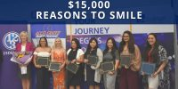 123Dentist Gives CDI College $15,000 Reasons to Smile